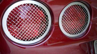 Taillight Grilles Laser Mesh 4pc |2005-2013 Chevrolet Corvette