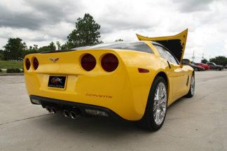 Taillight Covers Vinyl Blackout Kit 4pc |2005-2013 Chevrolet Corvette