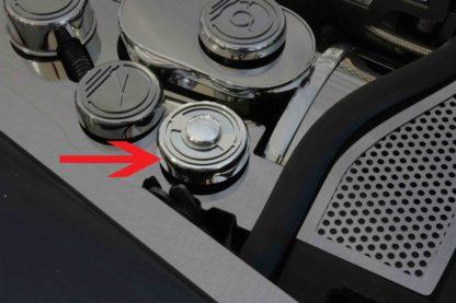 Emblem Rings Polished 2pc |2005-2013 Chevrolet Corvette