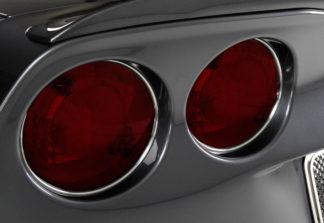 Taillight Chrome Vinyl Trim Kit 4pc |2005-2013 Chevrolet Corvette