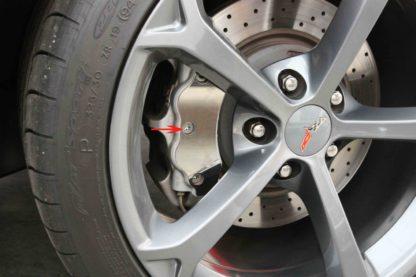 Caliper Covers Polished 18pc |2005-2013 Chevrolet Corvette