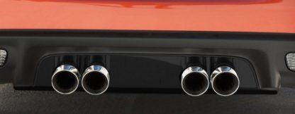 Exhaust Filler Panel Stock Exhaust Solid Black Stealth |2005-2013 Chevrolet Corvette