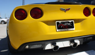 Rear Tag Frame Corvette Logo GML |2005-2013 Chevrolet Corvette