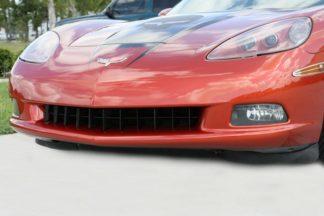 Grille Retro Style Semi Gloss Black Powder Coat Front C6 |2005-2013 Chevrolet Corvette