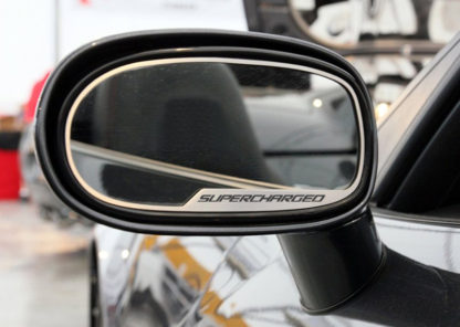 Mirror Trim Side View Supercharged Style 2pc GML |2005-2013 Chevrolet Corvette