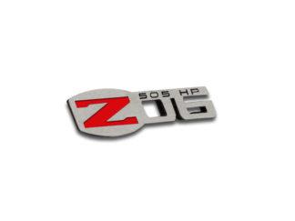 Z06 Stainless Badges 4pc Set 1.71″ x .5″ |2005-2013 Chevrolet Corvette