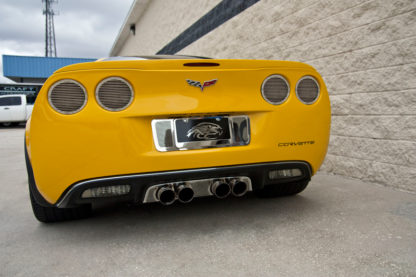 """Taillight Covers"""" NEW Billet Style"""" w/ Black out Kit 8pc  2005-2013 Chevrolet Corvette"""