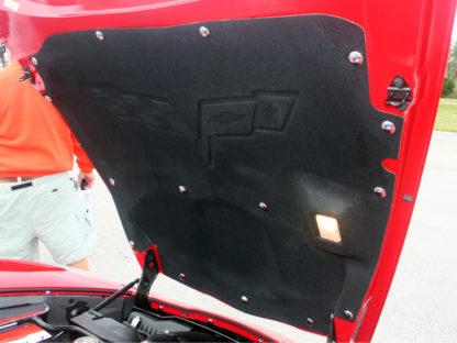 Hood Button Kit Chrome 15pc for hood pad |1997-2013 Chevrolet Corvette