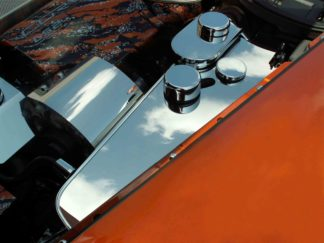 Water Tank Cover Polished w/caps Automatic C6 |2005-2013 Chevrolet Corvette