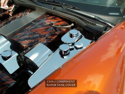 Water Tank Cover Polished w/caps Standard C6/Z06  2005-2013 Chevrolet Corvette