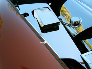 Inner Fender Covers Polished 4pc C6 |2005-2013 Chevrolet Corvette