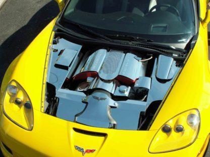 Inner Fender Covers Polished 4pc Z06 |2005-2013 Chevrolet Corvette