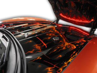 Fender Caps Polished 2pc Illum. Red LED |2005-2013 Chevrolet Corvette