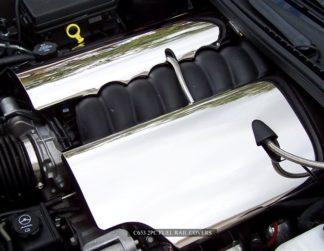 Fuel Rail Covers Polished C6 08-13 |2005-2013 Chevrolet Corvette