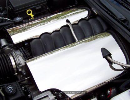 Fuel Rail Covers Polished C6 08-13  2005-2013 Chevrolet Corvette