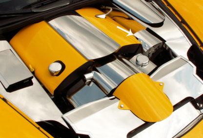 Alternator Cover Polished  2005-2013 Chevrolet Corvette