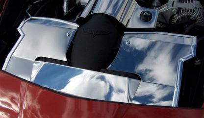 Radiator Cover Polished 05-07  2005-2008 Chevrolet Corvette