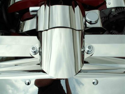 Air Tube Cover  Polished Component C6  2005-2007 Chevrolet Corvette