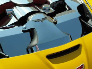 LS3 Air Tube Cover Polished 2pc |2005-2013 Chevrolet Corvette