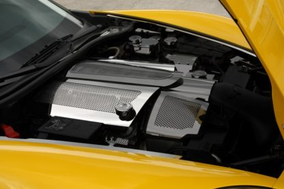 Fuel Rail Covers Perforated Replacement w/cap C6 08-13 |2008-2013 Chevrolet Corvette