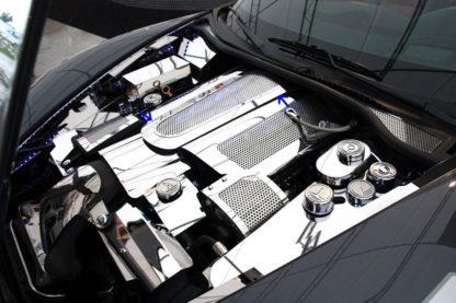 Plenum Cover Low Prof ONLY w/043051; 043052;  043053 ; Illum. Yellow LED |2008-2013 Chevrolet Corvette