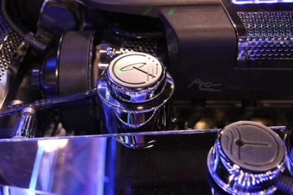 Power Steering Reservoir Cover Polished w/Cap ZR1  2009-2013 Chevrolet Corvette