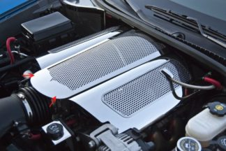 Plenum Cover Perforated Low Prof Illum. Yellow LED ONLY w/043086