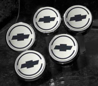 Cap Cover Set Bowtie Carbon Fiber 5pc Automatic CF Yellow |1997-2013 Chevrolet Corvette