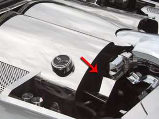 Belt Tension Cover Stand Alone *Requires modification of factory vacuum lines* |2005-2007 Chevrolet Corvette