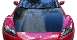 2004-2008 Mazda RX-8 Carbon Creations GT Concept Hood - 1 Piece
