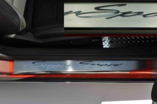 "Doorsills Polished ""Super Sport"" 2pc 2010-2015 Chevrolet Camaro"
