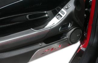 Door Handle Pull/Switch Deluxe Trim Plates 2pc (2hole) 2012-2013 Chevrolet Camaro