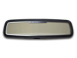 Mirror Trim Rear View Satin Supercharged Style 2010-2014 Chevrolet Camaro