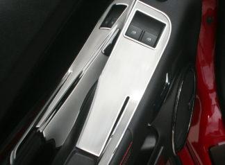 Door Handle Pull/Switch Deluxe Trim Plates 2pc 2010-2011 Chevrolet Camaro1997-2004 Chevrolet Corvette