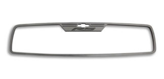 "Mirror Trim Rear View Satin ""RS Style"" Rectangle 2010-2014 Chevrolet Camaro"