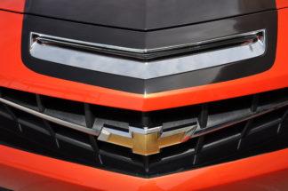 Hood Vent Insert Polished 2010-2013 Chevrolet Camaro