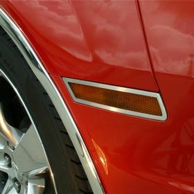 Side Marker Trim Satin 4pc 2010-2013 Chevrolet Camaro