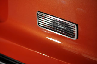 Reverse Light Covers Satin Billet Style 2010-2013 Chevrolet Camaro