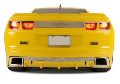 Rear Valance Perforated Fits the GM RS Ground Effects 2010-2013 Chevrolet Camaro