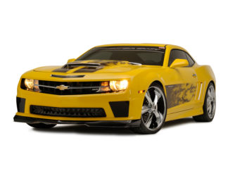 "Graphic ""AirSatin"" Gradient Flame Hood Rally Stripe 2010-2013 Chevrolet Camaro"