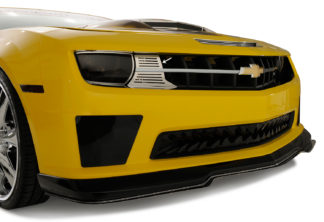 Turn Signal Cover Polished Front Bumper 2010-2013 Chevrolet Camaro