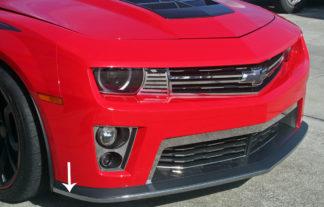 Lip Spoiler Trim Chrome Vinyl ZL1 2012-2013 Chevrolet Camaro