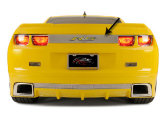 "Trunk Lid Plate ""RS"" Style Polished 2010-2013 Chevrolet Camaro"