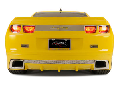"Trunk Lid Plate ""SS"" Style Polished 2010-2013 Chevrolet Camaro"