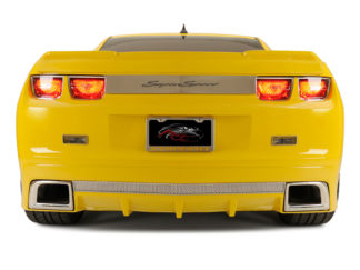 "Trunk Lid Plate ""Super Sport"" Style POLISHED Laser Etched 2010-2013 Chevrolet Camaro"