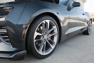 Side Marker Trim Kit? Polished with Tint Kit 6pc 2016-2017 Chevrolet Camaro