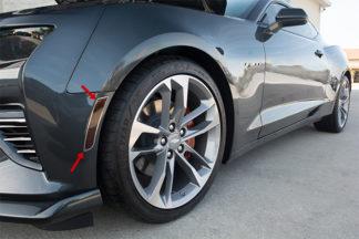 Side Marker Trim Kit? Satin with Tint Kit 6pc 2016-2017 Chevrolet Camaro