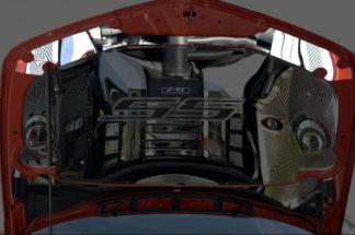 Upper Hood Plate Polished 2010-2015 Chevrolet Camaro