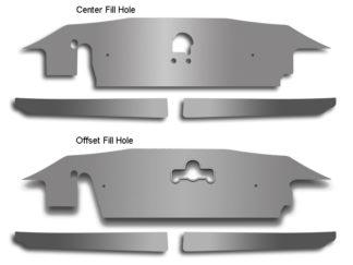 Radiator Cap Polished works w/103033 Offset Fill Hole 2010-2015 Chevrolet Camaro