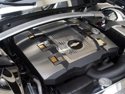 Polished Engine Shroud Dress Up Kit 10pc V6 ONLY 2010-2015 Chevrolet Camaro